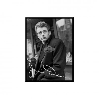 "Magnet ""James Dean Look - Celebrities"" Nostalgic Art-Auslaufartikel"