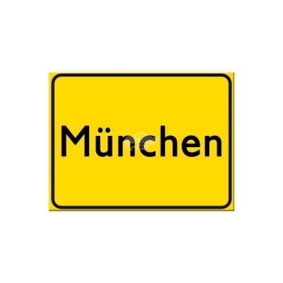 """Magnet """"München"""" Nostalgic Art-Auslaufartikel"""