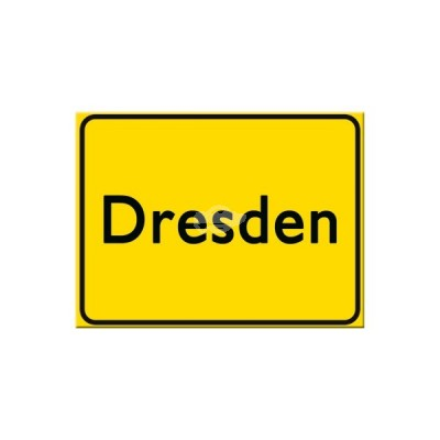 "Magnet ""Dresden"" Nostalgic Art-Auslaufartikel"