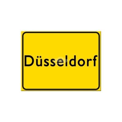 "Magnet ""Düsseldorf"" Nostalgic Art-Auslaufartikel"