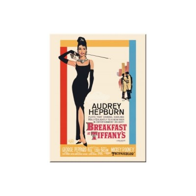 "Magnet ""Breakfast at Tiffanys"" Nostalgic Art"