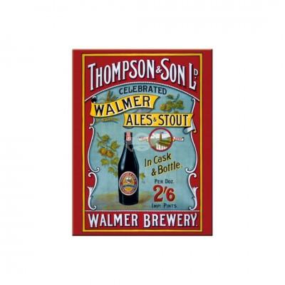 "Magnet ""Thompson & Son - Bier & Spirituosen"" Nostalgic Art-Auslaufartikel"