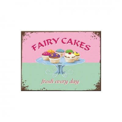 "Magnet ""Fairy Cakes - Home & Country"" Nostalgic Art"