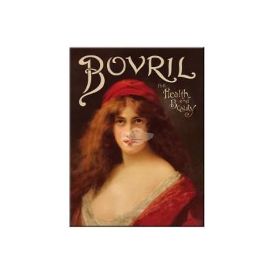 "Magnet ""Bovril Lady"" Nostalgic Art-Auslaufartikel"