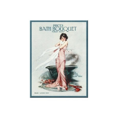 "Magnet ""Bath Bouquet"" Nostalgic Art-Auslaufartikel"