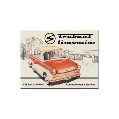 "Magnet ""Limousine - Trabant"" Nostalgic Art"