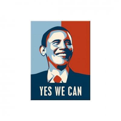 "Magnet ""Obama - USA"" Nostalgic Art-Auslaufartikel"