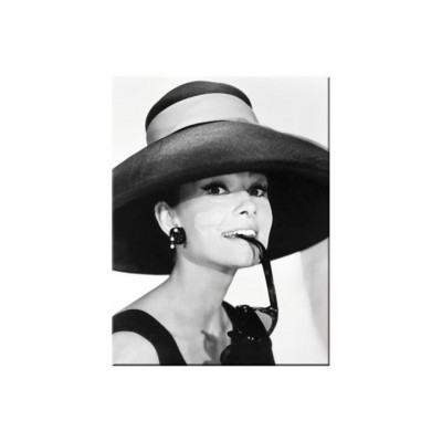 "Magnet ""Audrey Hepburn"" Nostalgic Art"