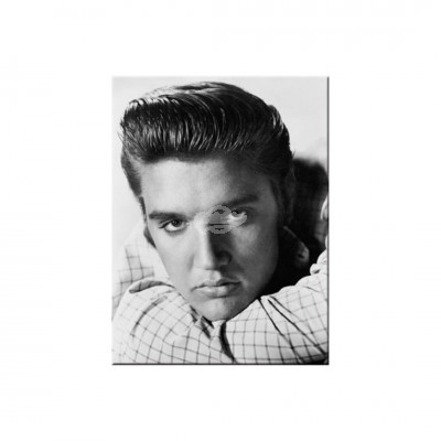 "Magnet ""Elvis Portrait - Celebrities"" Nostalgic Art"