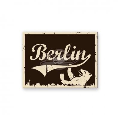 """Magnet """"Berlin Bär - Berlin CityStyle"""" Nostalgic Art-Auslaufartikel"""