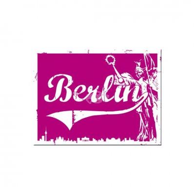 "Magnet ""Berlin Goldelse - Berlin CityStyle"" Nostalgic Art-Auslaufartikel"