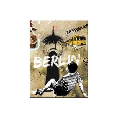 """Magnet """"Berlin Street Art - Berlin CityStyle"""" Nostalgic Art"""