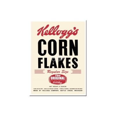 "Magnet ""Corn Flakes - Kelloggs"" Nostalgic Art-Auslaufartikel"