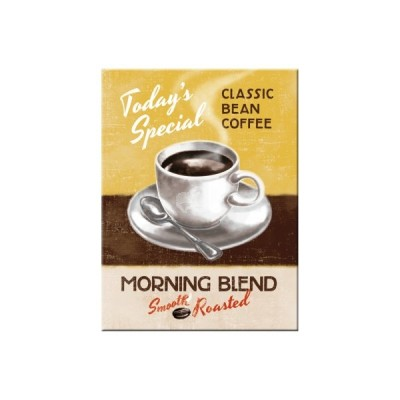 "Magnet ""Morning Blend - Coffee & Chocolate"" Nostalgic Art"