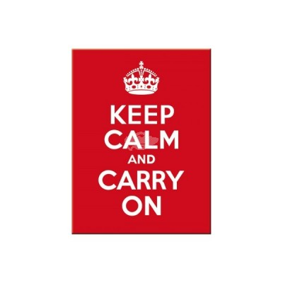 "Magnet ""Keep Calm - United Kingdom"" Nostalgic Art"