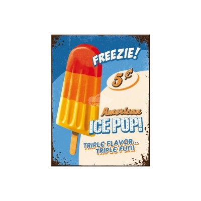 "Magnet ""Ice Pop - USA"" Nostalgic Art"