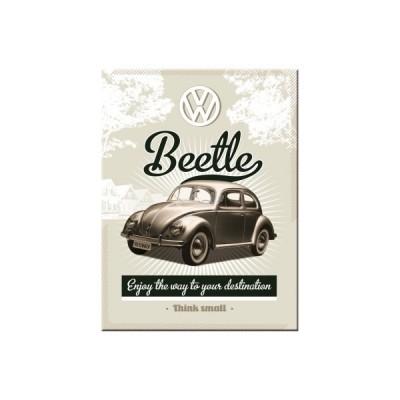 "Magnet ""VW Retro Beetle - Volkswagen"" Nostalgic Art"