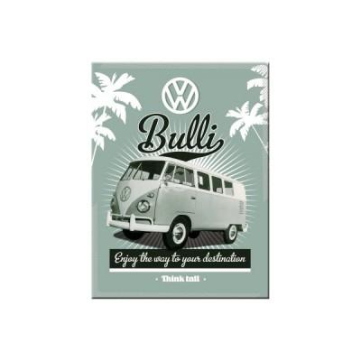 """Magnet """"VW Retro Bulli - Volkswagen"""" Nostalgic Art"""