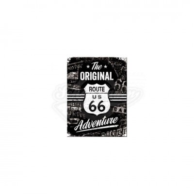 "Magnet ""Route 66 The Original Adventure"" Nostalgic Art"