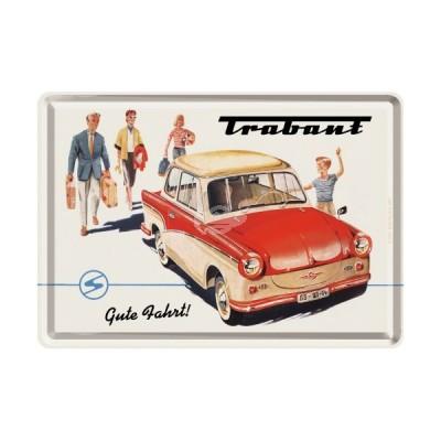 "Blechpostkarte ""Trabant - Gute Fahrt"" Nostalgic Art"