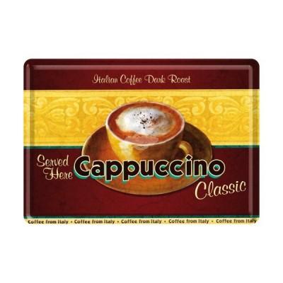 "Blechpostkarte ""Cappuccino"" Nostalgic Art-Auslaufartikel"