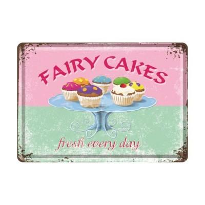 "Blechpostkarte ""Fairy Cakes"" Nostalgic Art"