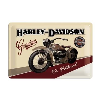 "Blechschild ""Harley Davidson - Flathead"" Nostalgic Art"