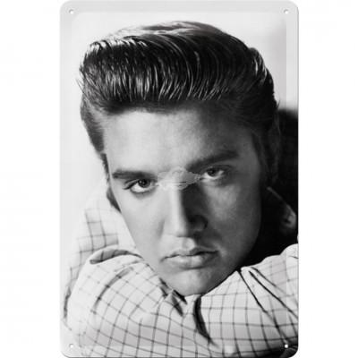 """Blechschild """"Elvis - Portrait"""" Nostalgic Art"""