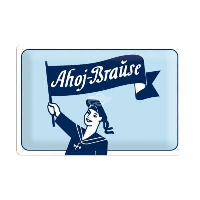 """Blechschild """"Ahoi-Brause"""" Nostalgic Art-Auslaufartikel"""
