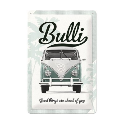 "Blechschild ""VW Bulli - good things"" Nostalgic Art"