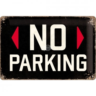 "Blechschild ""No Parking"" Nostalgic Art"