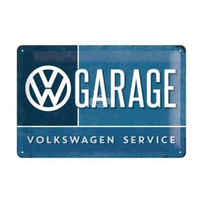 "Blechschild ""Garage – VW"" Nostalgic Art"