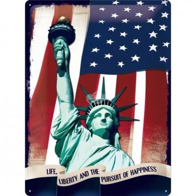 """Blechschild """"Statue of Liberty"""" Nostalgic Art-Auslaufartikel"""