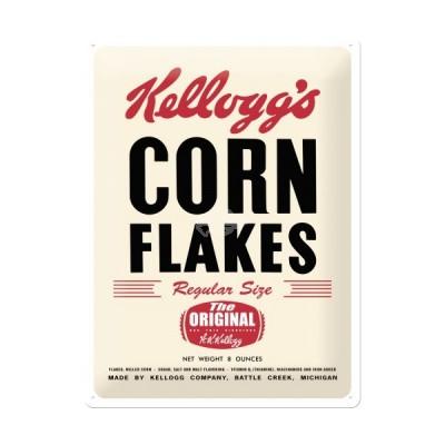 "Blechschild ""Corn Flakes - Kelloggs"" Nostalgic Art"