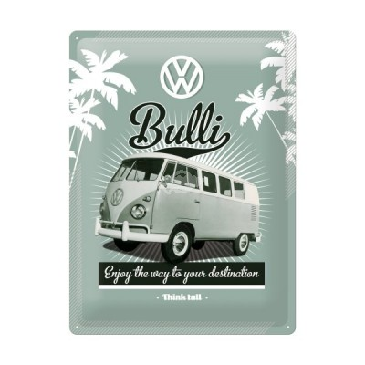"Blechschild VW Bulli - Enjoy"" Nostalgic Art"