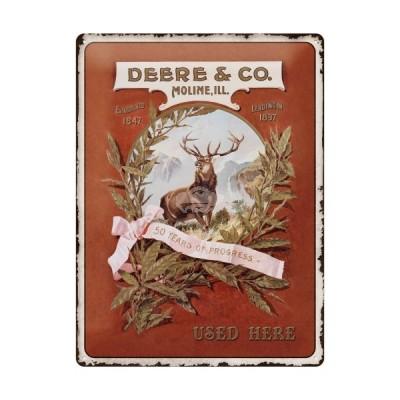 "Blechschild ""John Deere - Deere & Co"" Nostalgic Art"
