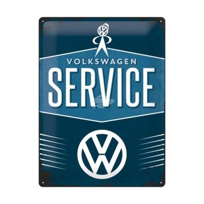 "Blechschild ""Service – VW"" Nostalgic Art"