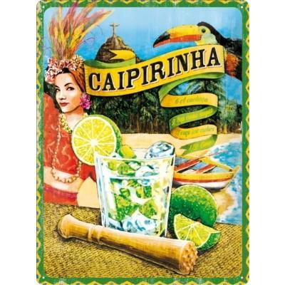 """Blechschild """"Caipirinha"""" Nostalgic Art"""