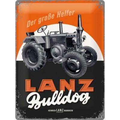 """Blechschild """"Lanz Bulldog"""" Nostalgic Art"""