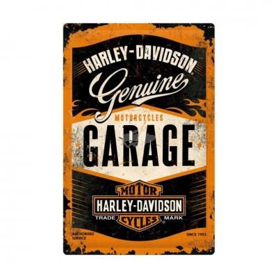 "Blechschild ""Harley Davidson"" 40x60 cm Nostalgic Art"