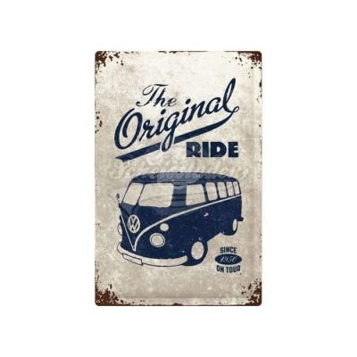 "Blechschild ""VW Bulli - The Original Ride"" 40x60 cm Nostalgic Art"