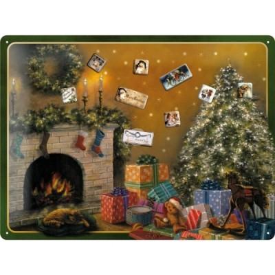 """Magnettafel """"Christmas Tree"""" Nostalgic Art-Auslaufartikel - von Nostalgic Art - scheissladen.com"""