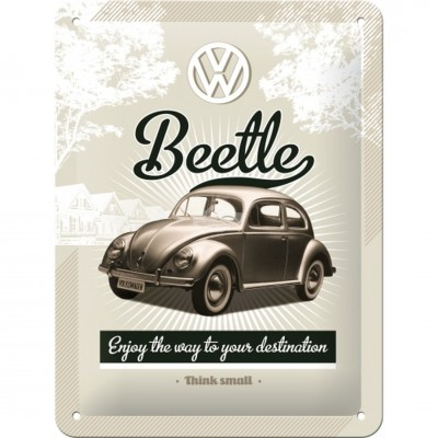 "Blechschild ""VW Retro Beetle"" Nostalgic Art"