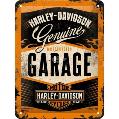 "Blechschild ""Harley Garage"" Nostalgic Art"