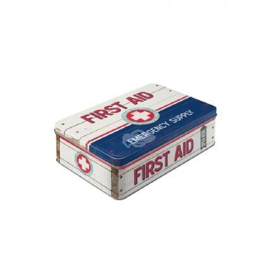 "Vorratsdose Flach ""First Aid II"" Nostalgic Art"