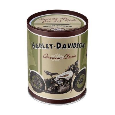 "Spardose ""Harley Davidson Motorcycles"" Nostalgic Art"