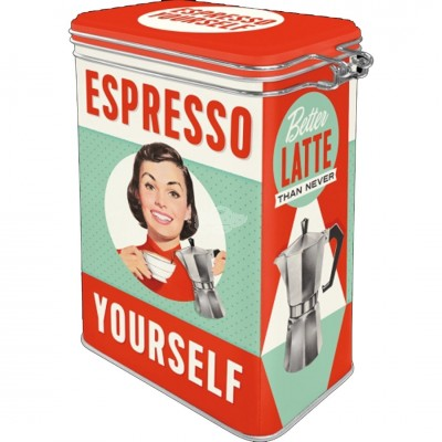"Aromadose ""Espresso Yourself"" Nostalgic Art"