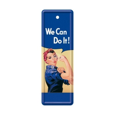 "Lesezeichen ""We can do it - USA"" Nostalgic Art"