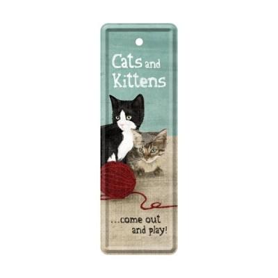 """Lesezeichen """"Cats an Kittens - Animal Club"""" Nostalgic Art"""
