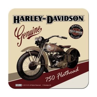 """Untersetzer """"Harley-Davidson Flathead"""""""